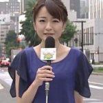小山悠里アナ(札幌テレビ)の胸のカップ画像がかわいい!年齢や身長は?熱愛の彼氏と結婚?